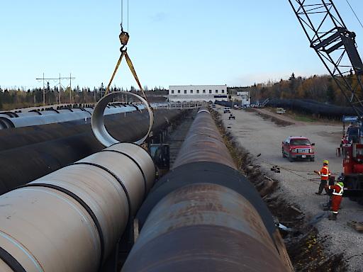 HOBAS Rohre für die Sanierung des Speicherkraftwerks Deer Lake (Neufundland, Kanada)