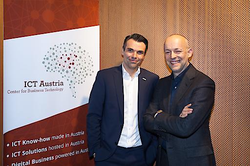 Im Rahmen des 1. Executive Impulse der ICT Austria diskutierten Mitglieder und Kunden der ICT Austria mit Stephan Balzer.