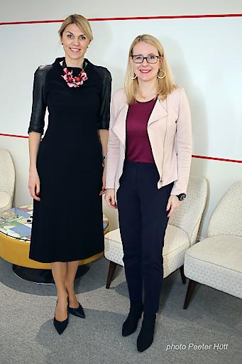 Bundesministerin Schramböck bei estnischer Amtskollegin Urve Palo