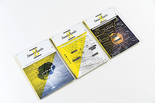 Alle Covers zieren die Handschrift von Gründer und Herausgeber Richard Hirschhuber. Mit dem Magazin wollen er und sein Partner Philipp Zimmermann den Hoteliers einen besonderen Service bieten.