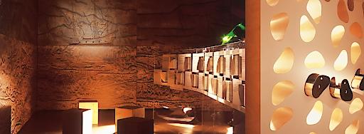 Raum 'Geschichte des Holzes' in der FeuerWerk HolzErlebnisWelt