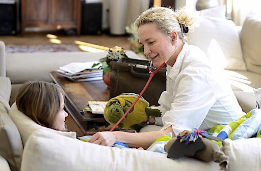 Hausbesuch Kinderhospiz MOMO