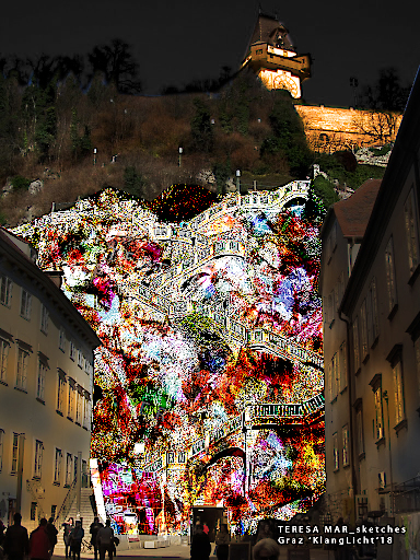 """Scala Lucida"" von Teresa Mar Schlossbergstiege Graz"