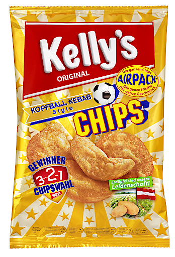 Kelly's Chips Kopfball Kebab