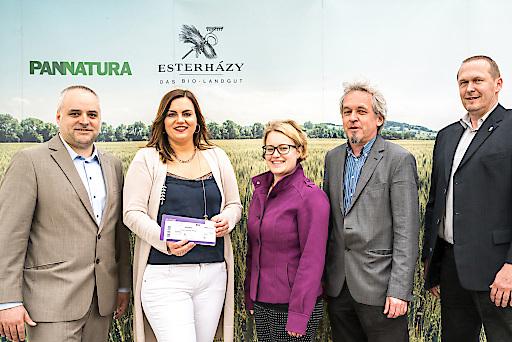 Gruppenfoto bei der Programmpräsentation am Bio-Landgut Esterhazy in Donnerskirchen