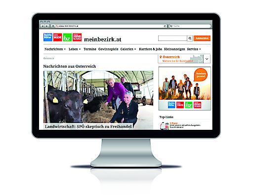 meinbezirk.at – das digitale Angebot der Regionalmedien Austria.