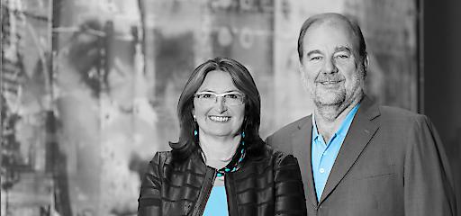 Die Trainer Sigrid und Peter Peer