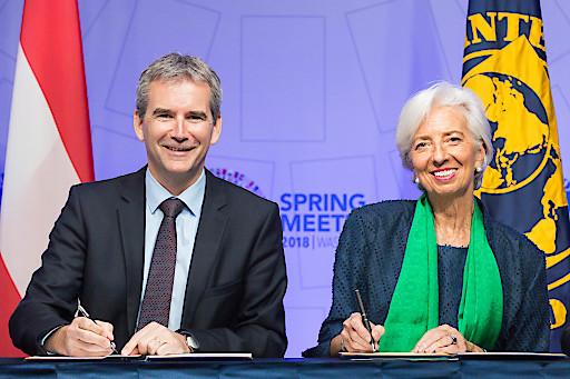 Österreich und IWF verlängern Übereinkommen über das Joint Vienna Institute