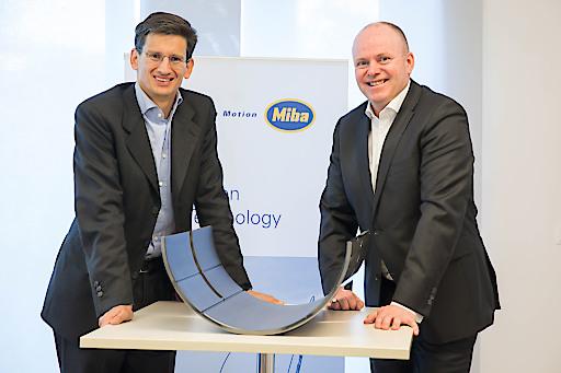 Miba CEO F. Peter Mitterbauer und CFO Markus Hofer