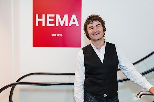 Richard Flint, Director International und Mitglied des Vorstands von HEMA