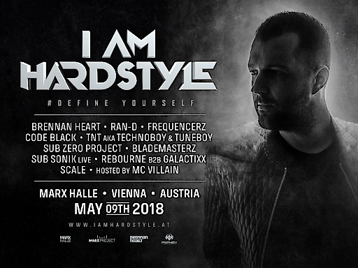 I am Hardstyle Austria Marx Project Wien