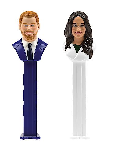 PEZ versteigert königliches Traumpaar Harry und Meghan