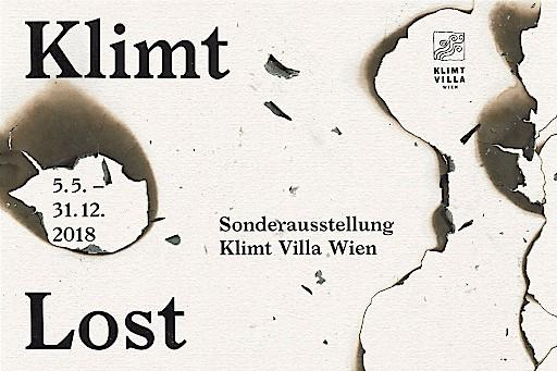 """Ausstellungsplakat """"Klimt lost"""""""