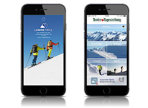 Lawine Tirol App Screenshots