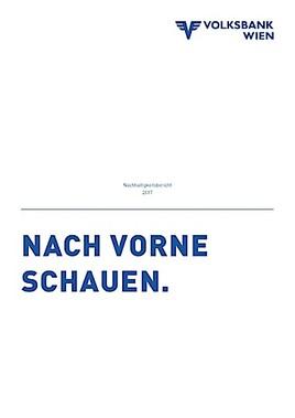Volksbank Wien Ag Veröffentlicht Ersten Nachhaltigkeitsbericht