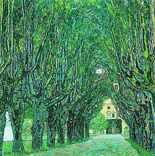 Gustav Klimt: Allee von Schloss Kammer, 1912, Belvedere, Wien