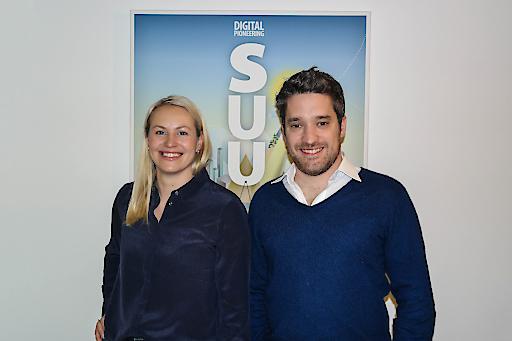 Sarah Huber und Florian Fischer sind die neuen Digitalen Pioniere bei Speed U Up