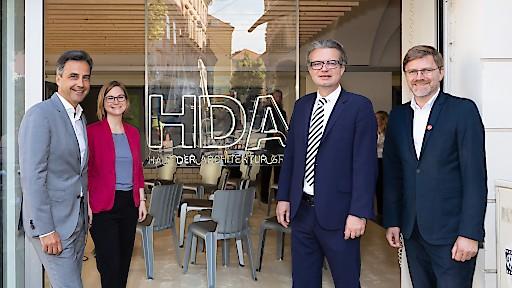 Pressegespräch zum Architektursommer 2018 mit Bürgermeister Siegfried Nagl und Kulturlandesrat Christopher Drexler