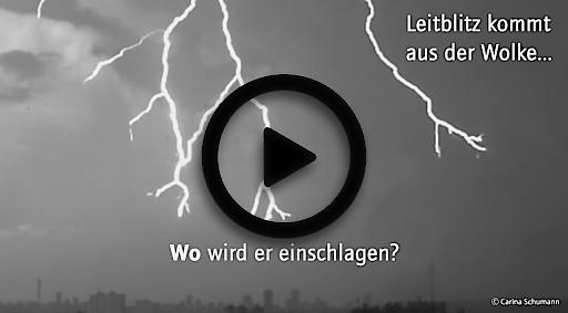 Gewitter im Anmarsch? Keine Sicherheit im Freien! – Neues Blitz-Video informiert