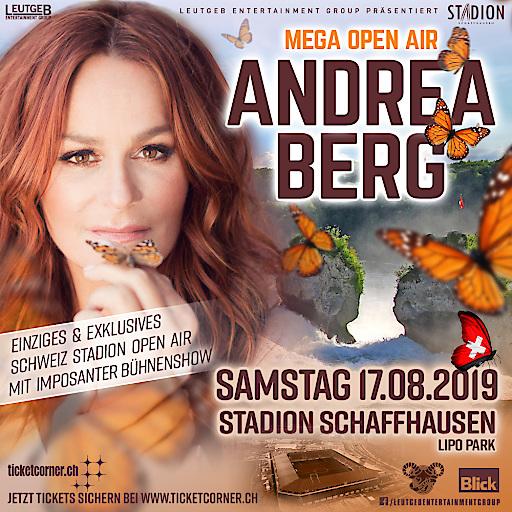 Artwork zur Veranstaltung - Andrea Berg am 17. August 2019 in Schaffhausen