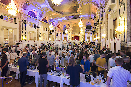 Die VieVinum gilt mit den prachtvollen Räumlichkeiten Wiener Hofburg als schönste Weinmesse der Welt.
