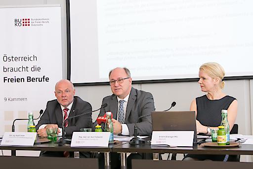 Dipl.Ing. Rudolf Kolbe, Mag, vet.med. Kurt Frühwirth, Kristin Allwinger, MSc