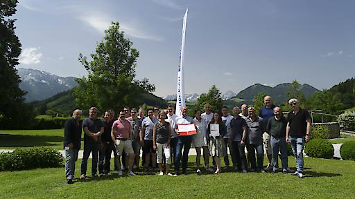 faircheck Schadenregulierer mit den erhaltenen Auszeichnungen von Quality Austria bei der alljährlichen KONfairENZ in Windischgarsten.
