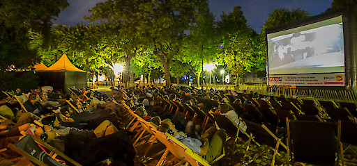Silent Cinema am Campus der Universität Wien