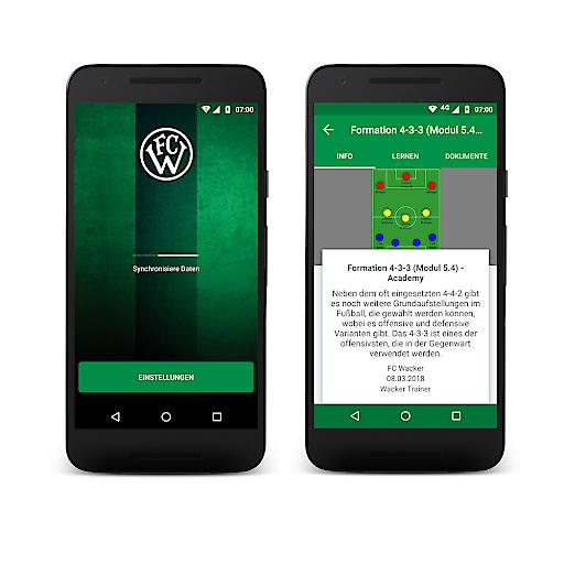 FC Wacker Innsbruck Tormann-App