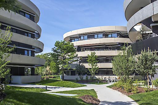 """RONDO der IC Development im VIERTEL ZWEI wurde mit dem Architekturpreis """"Schorsch"""" ausgezeichnet."""