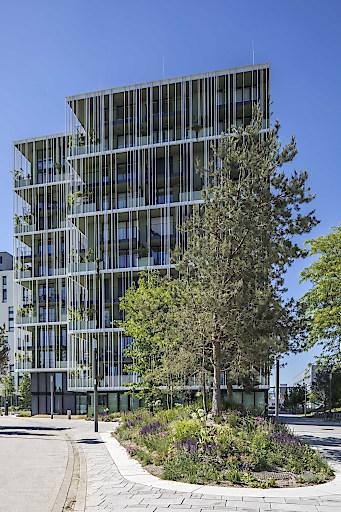 """STUDIO ZWEI der IC Development im VIERTEL ZWEI wurde mit dem Architekturpreis """"Schorsch"""" ausgezeichnet."""