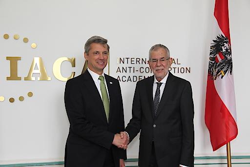 Martin Kreutner und Alexander Van der Bellen