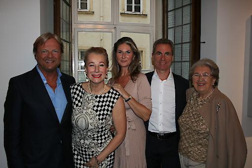 v.l.n.r.: Bernhard Ramsauer, Eva Walderdorff, Gabriela Lenikus, Martin Lenikus