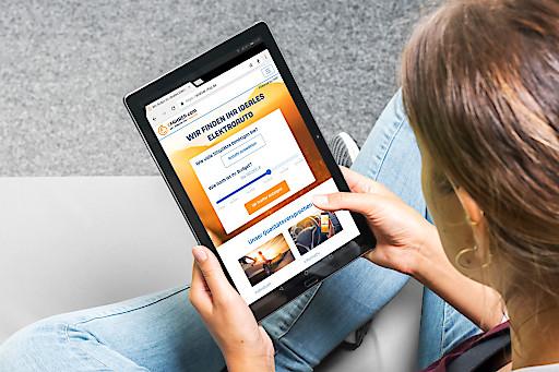 """EFahrer.com - das neue Online-Vermittlungsportal für E-Mobilität / Weiterer Text über ots und www.presseportal.de/nr/121533 / Die Verwendung dieses Bildes ist für redaktionelle Zwecke honorarfrei. Veröffentlichung bitte unter Quellenangabe: """"obs/BurdaForward GmbH/Copyright: EFahrer.com"""""""