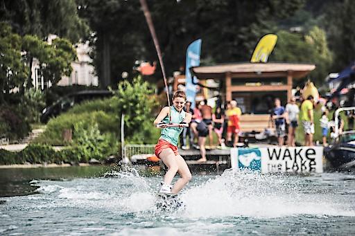Egal ob am Wasser oder zu Land. Beim Wake the Lake steht der See-Sport im Vordergrund.