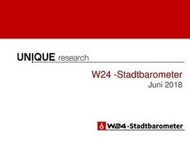 W24-Stadtbarometer: Drei klare aktuelle Aussagen der Wiener Bevölkerung