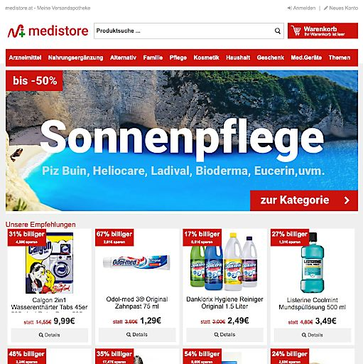 medistore.at setzt auf Kundenzufriedenheit und Kundenservice.