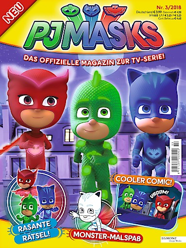 Egmont Ehapa Launcht Toy Story Magazin: PJ Masks Erhält Eigenes Magazin Bei Egmont Ehapa Media