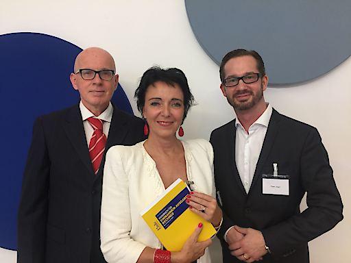 Die Autoren Wolfgang Berger, Eva Pernt und Peter Unger (v.l.n.r.)