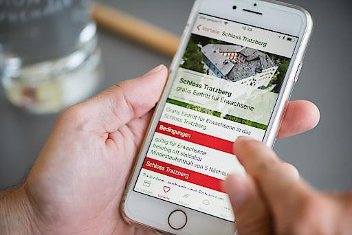 Mit der SILBERCARD App ist die direkte Kommunikation zwischen Destination und Gast möglich.