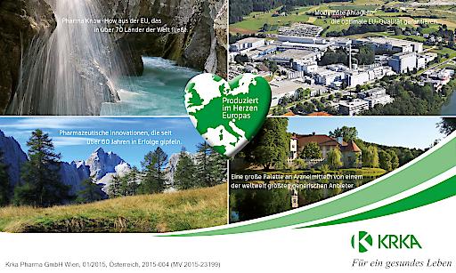 KRKA Pharma produziert im Herzen Europas
