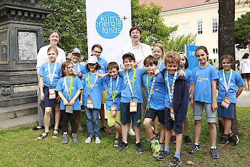 https://www.apa-fotoservice.at/galerie/14625 Wien Durch das Sponsoring des Klima- und Energiefonds wurden Energie- und Klimathemen in den Lehrplan der Kinderuni Wien für die Kinder aufgenommen.