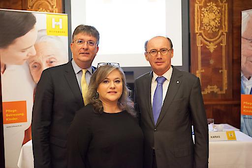 Dieter Scharitzer, Elisabeth Anselm, Othmar Karas