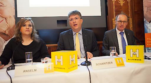 Elisabeth Anselm, Dieter Scharitzer, Othmar Karas