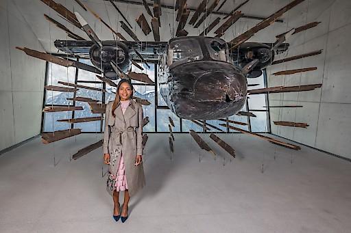 """Naomie Harris zeigte sich beeindruckt von der Inszenierung der """"BN2"""" - Islander"""" in der Action Hall."""