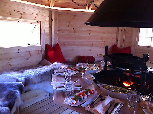 Die Rieger Hütte im Wienerwaldhof