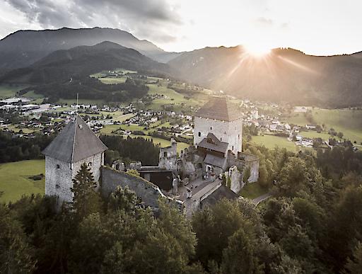 Die Burg Gallenstein - einer der Hauptllocations des Festivals