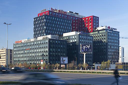 Das Bürozentrum Megapark in Sofia