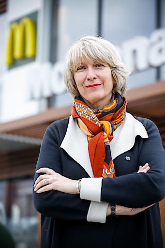 McDonald's Österreich Managing Director Isabelle Kuster.