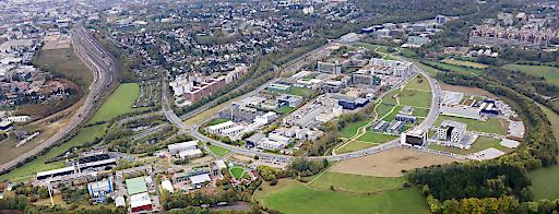 """Ecosystem RWTH Aachen Campus (Campus GmbH/Steindl) / Ein exklusives Programm zu Innovation, Industrie 4.0 und Intrapreneurship für Führungskräfte / Einblicke in die Stärken der beiden Ökosysteme RWTH Aachen Campus und Silicon Valley / Weiterer Text über ots und www.presseportal.de/nr/126941 / Die Verwendung dieses Bildes ist für redaktionelle Zwecke honorarfrei. Veröffentlichung bitte unter Quellenangabe: """"obs/RWTH Aachen Campus GmbH"""""""
